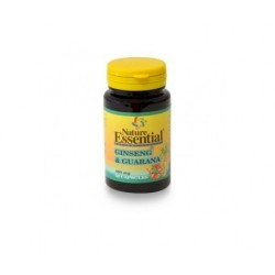 GINSENG Y GUARANA 400 MG 50 CPS - NATURE ESSENTIAL