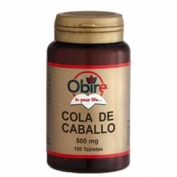 COLA DE CABALLO 500 MG 100 TABLETAS - OBIRE
