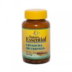 LEVADURA DE CERVEZA 400 MG 250 TABLETAS - NATURE ESSENTIAL
