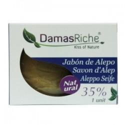 JABON ALEPO 35% LAUREL 200 GR - DAMASRICHE